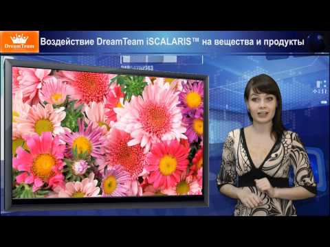 Кулон DreamTeam iSCALARIS™ Воздействие на Вещества и Продукты